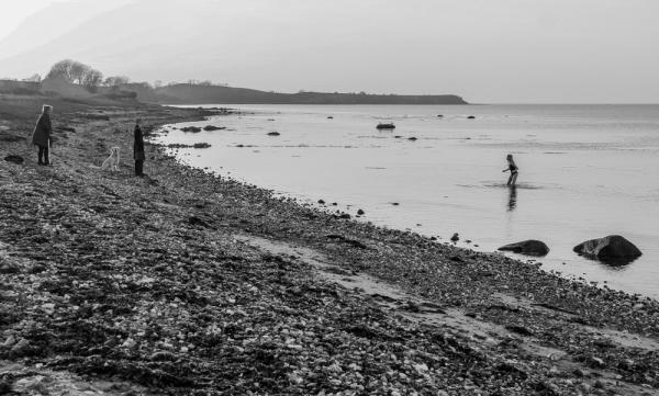 Sejrø - First swim in April