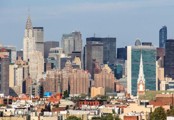 Manhattan skyline 1 px