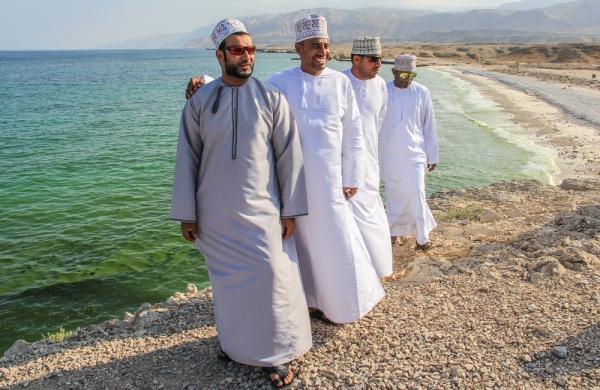 Omani friends